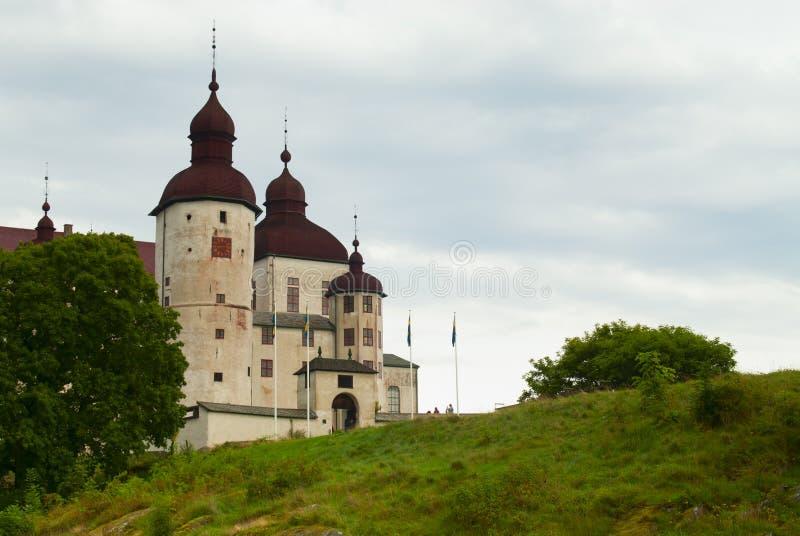 Lacko castle stock photography