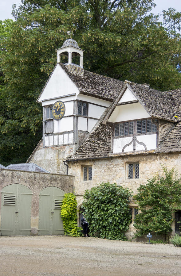 Lacock Abbey Clock Tower royalty free stock photography