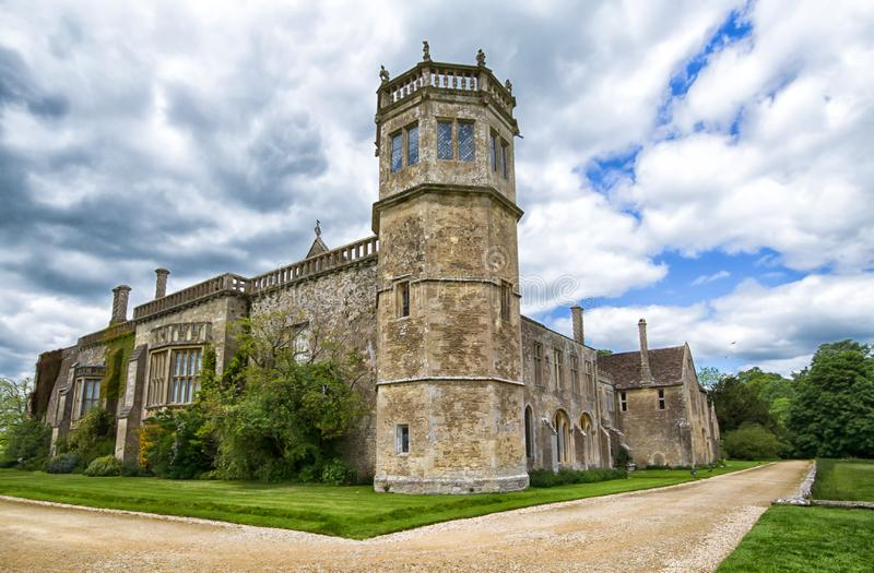 Lacock Abbey. Original home of photography royalty free stock photography