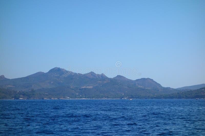 Lacona in Elba Island immagini stock