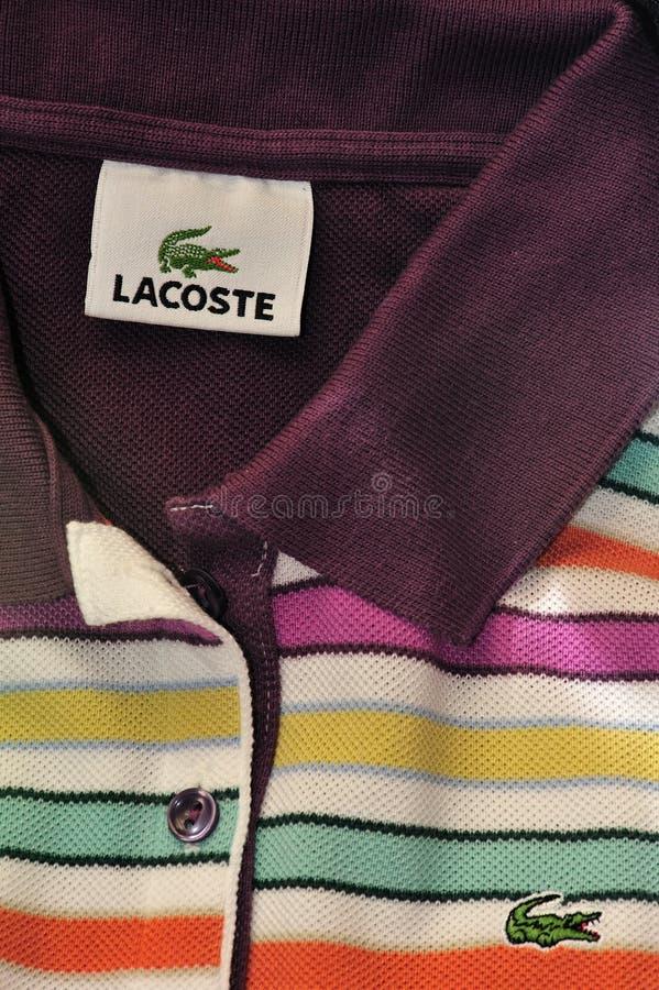 lacoste πουκάμισο στοκ εικόνες