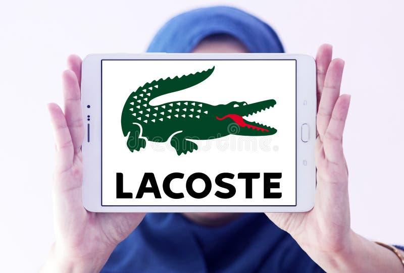 Lacoste logo stock photography