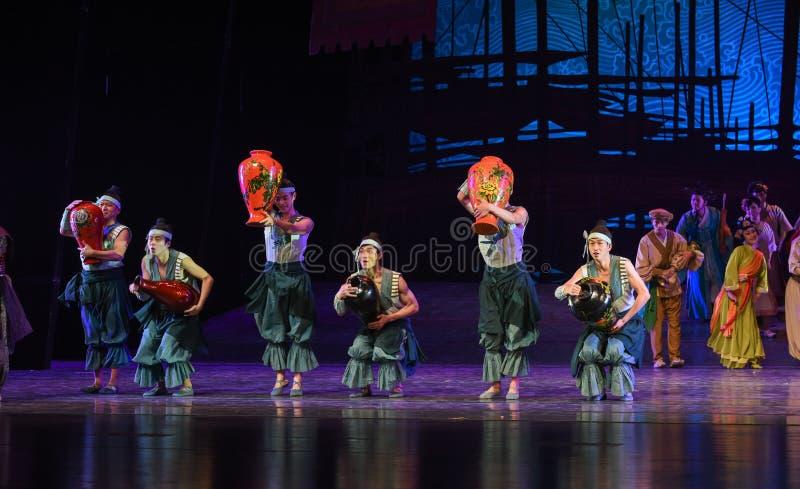 "Lacquerware merchant-Dance drama ""The Dream of Maritime Silk Road"" royalty free stock photos"