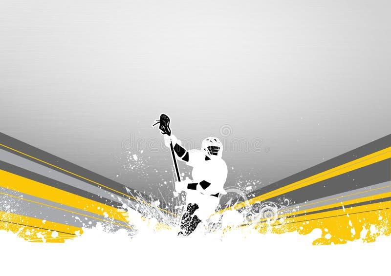 Lacrosse ilustração do vetor