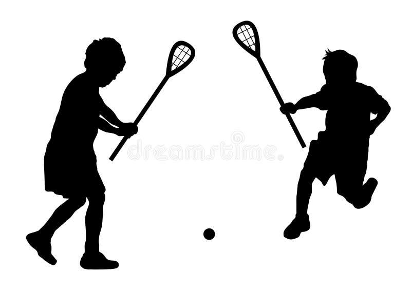 Lacrosse vector illustratie