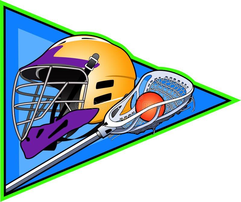 lacrosse ilustracja wektor