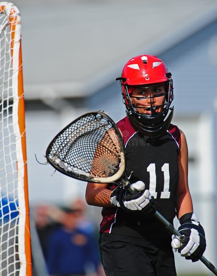 Lacrosse Goalie 11 royalty free stock photography
