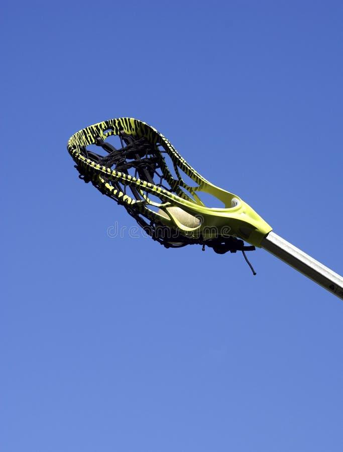 lacrosse kulowego patyk zdjęcie stock