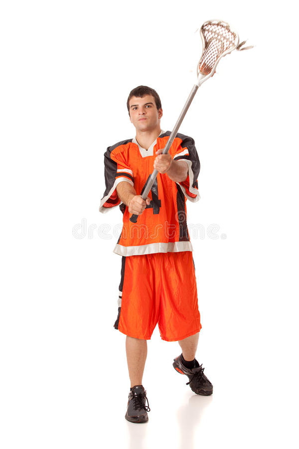 Download Lacrosse Player stock image. Image of shot, uniform, lacrosse - 22254265