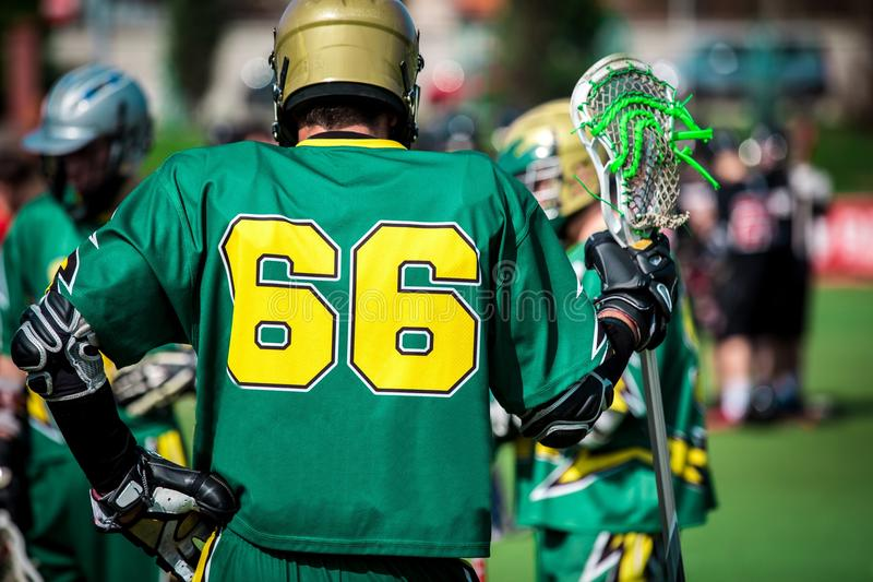 Download Lacrosse stock image. Image of navy, competition, field - 58667729