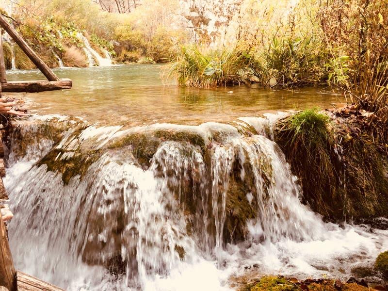 Lacs Croatie park national de Plitvice photographie stock libre de droits