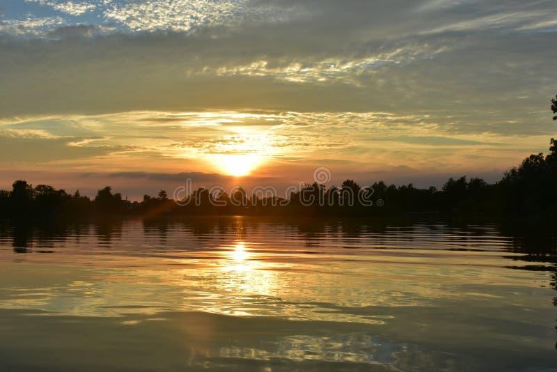 Lacs dans Reeuaijk photographie stock libre de droits