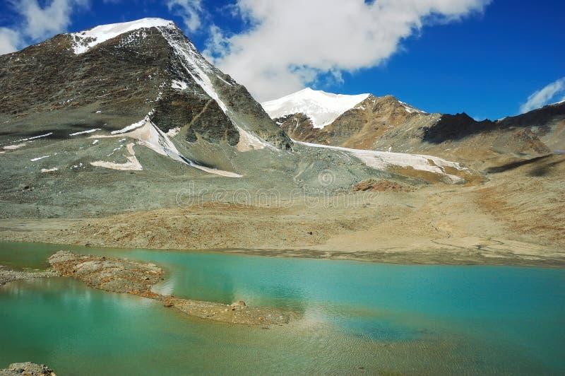 Lacs de l'Himalaya images libres de droits