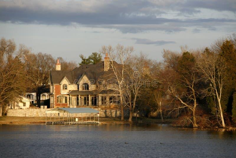 Lacs et vie nashville photo libre de droits