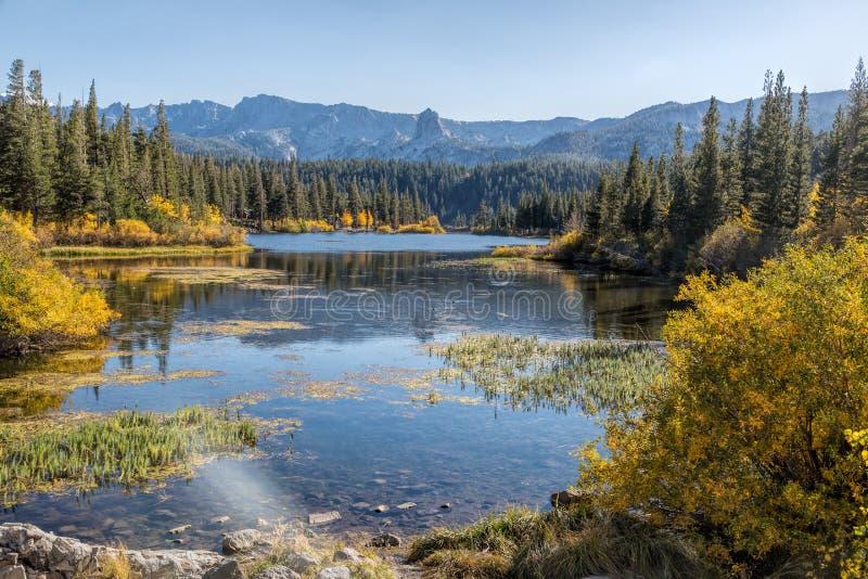 Lacs jumeaux image stock