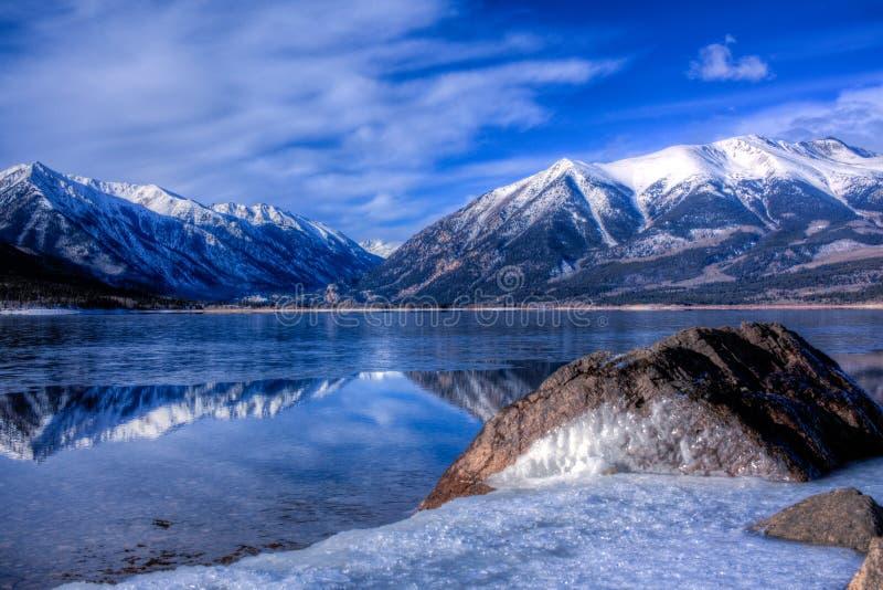 Lacs jumeaux, le Colorado photos libres de droits