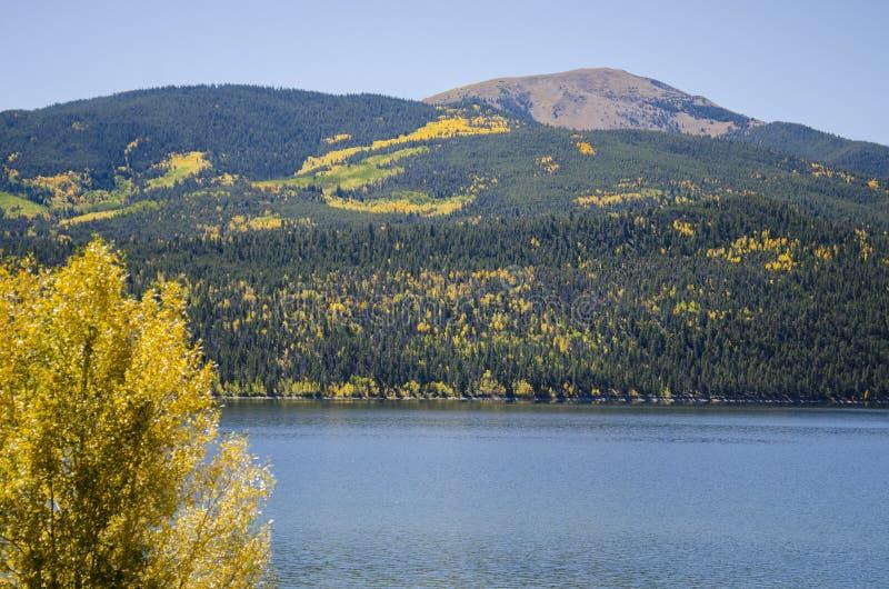 Lacs jumeaux le Colorado image libre de droits
