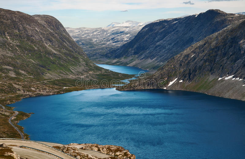 Lacs mountain image libre de droits
