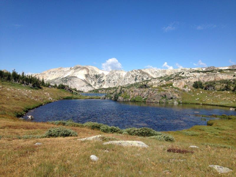 Lacs mountain photo libre de droits