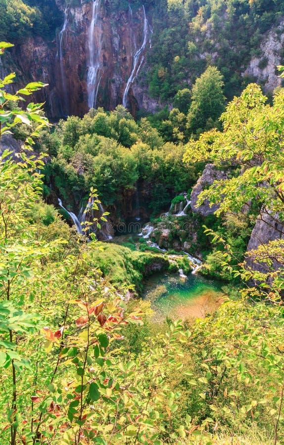 Lacs Plitvice image libre de droits