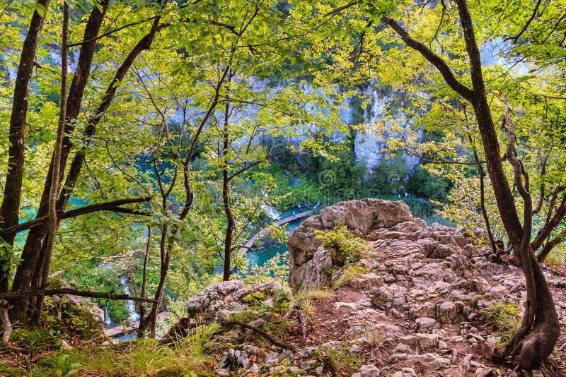 Lacs Plitvice photographie stock