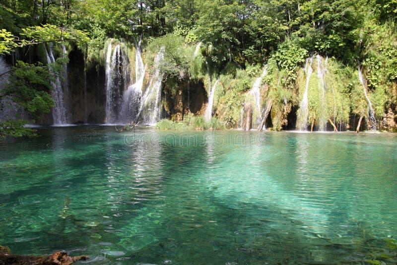 Lacs Plitvicka photos stock