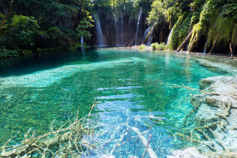 Lacs stationnement national, Croatie Plitvice photo stock