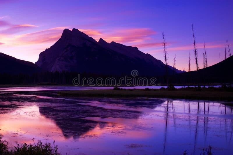 Lacs vermeils 1 photographie stock libre de droits