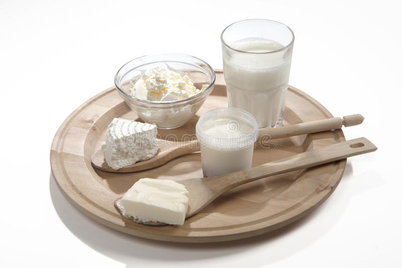 Lactose-free γαλακτοκομικά προϊόντα στοκ φωτογραφίες με δικαίωμα ελεύθερης χρήσης