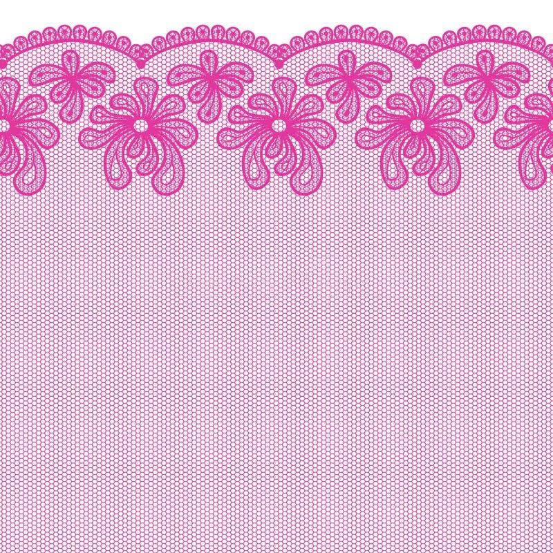 lacy border royalty free illustration