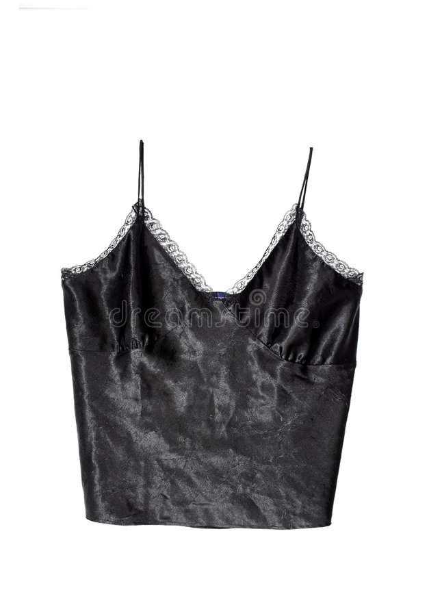 Lacy camisole stock photography
