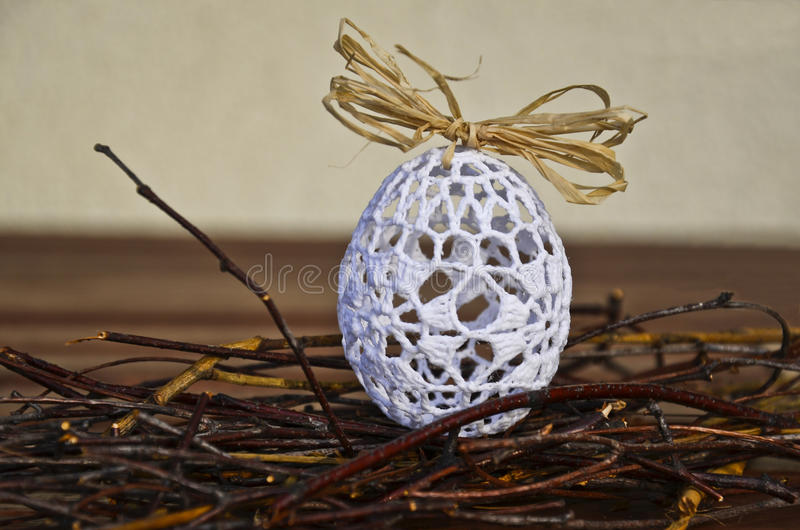 Lacy Easter Egg imagens de stock royalty free