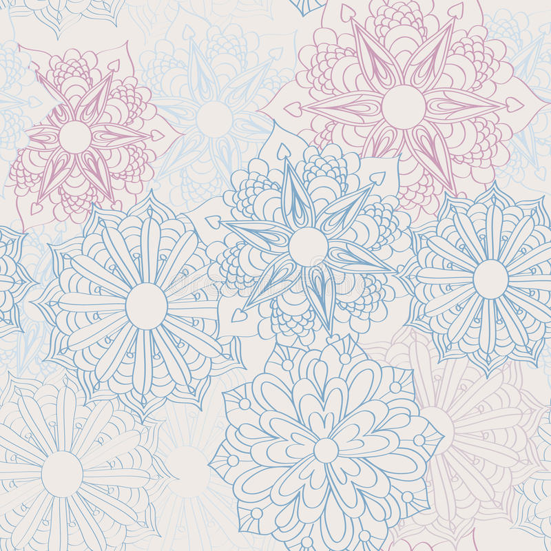 Download Lacy flower pattern stock vector. Illustration of geometric - 23793090
