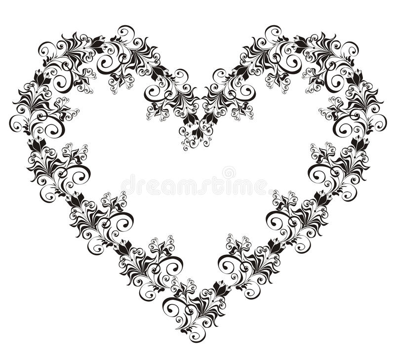 Download Lacy Heart. Vector Illustration Stock Vector - Image: 15719532