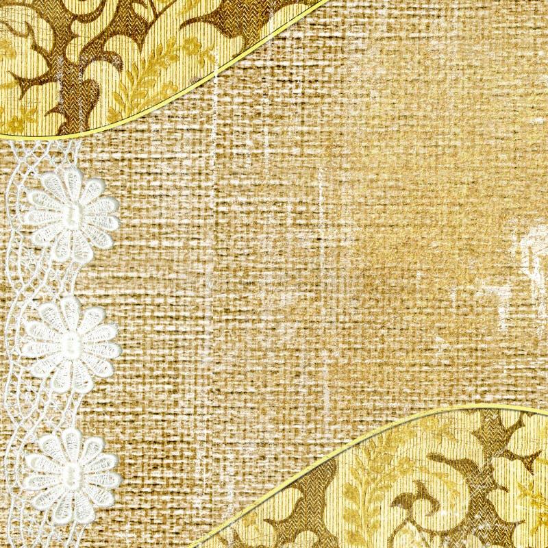 lacy rocznego tło ilustracja wektor