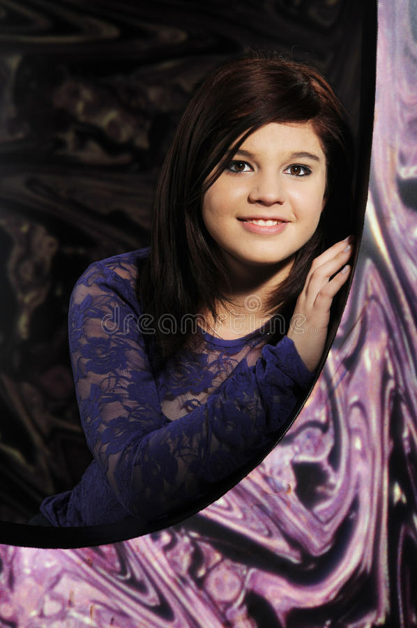 Lacy stående royaltyfri foto