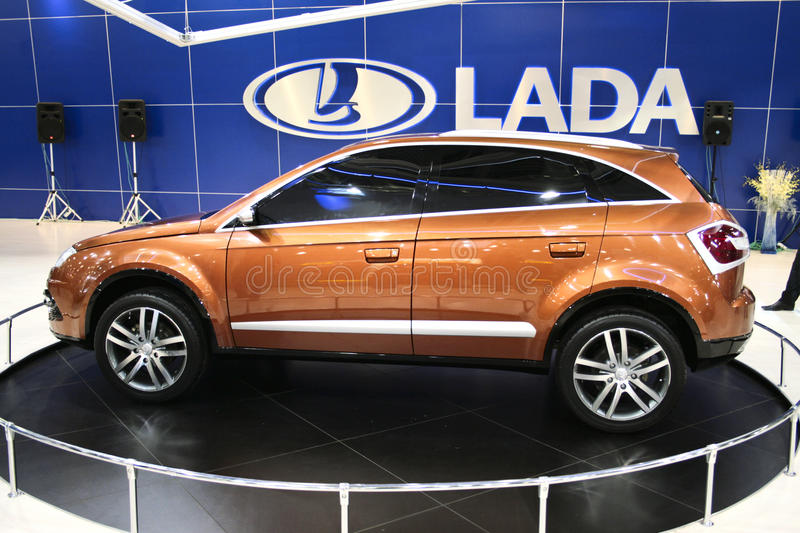 Download Lada C-Cross editorial photography. Image of design, engine - 10830437