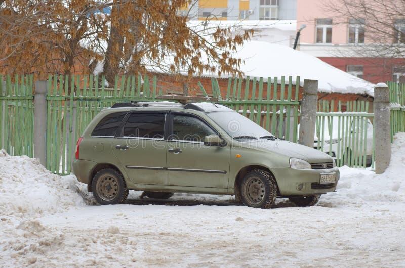Lada Kalina arkivfoto