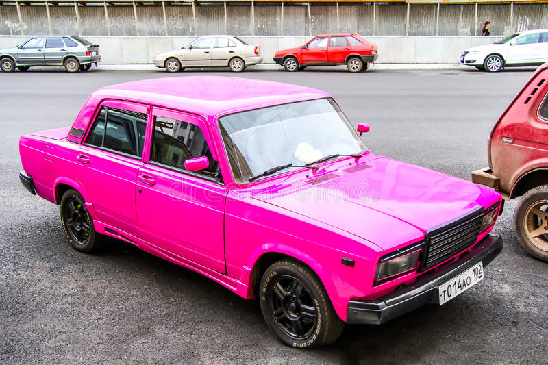 Lada 2107 editorial stock photo image of automobile for Value car motor city