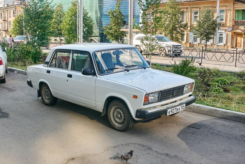 Lada Vaz 2105 fotografia de stock royalty free