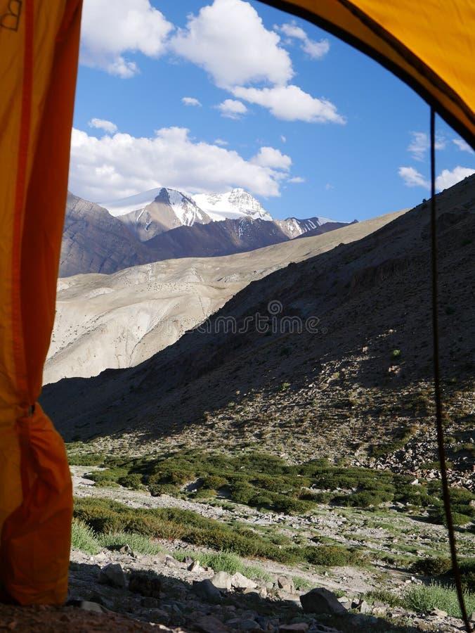 Ladakh de acampamento imagens de stock royalty free