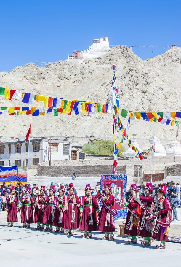 Ladakh festiwal 2017 fotografia stock