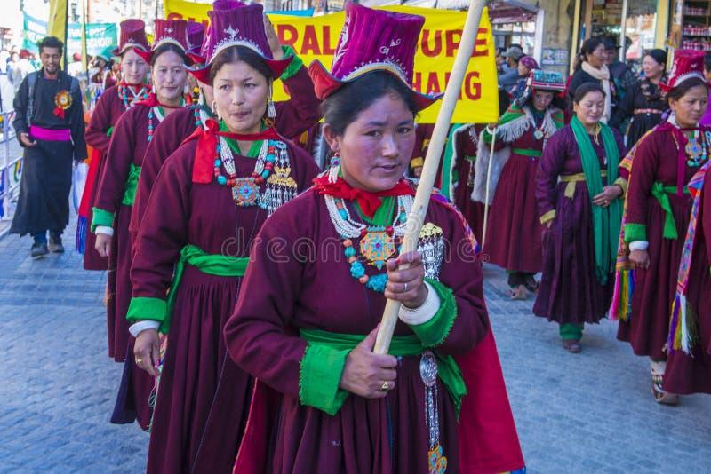 Ladakh festiwal 2017 obraz royalty free