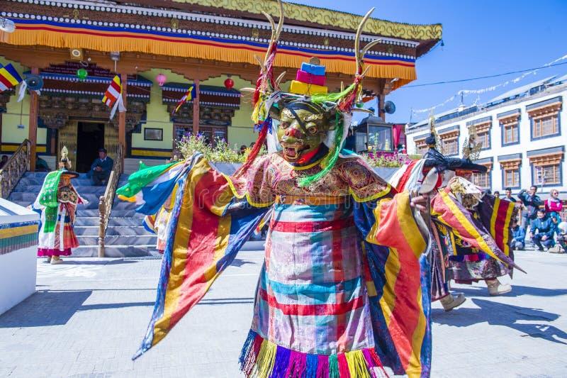 Ladakh festiwal 2017 obrazy stock