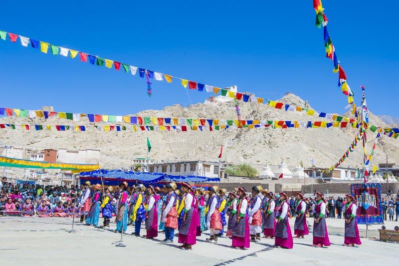 Ladakh festiwal 2017 zdjęcia stock