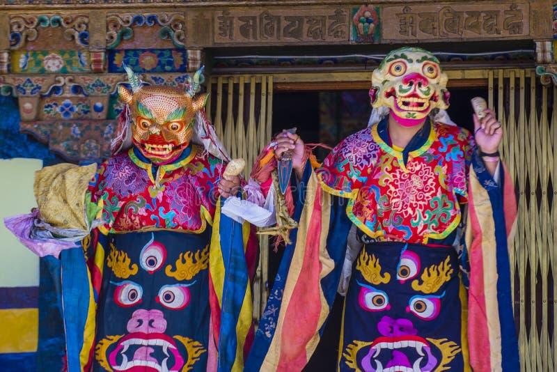 Ladakh festiwal 2017 obrazy royalty free