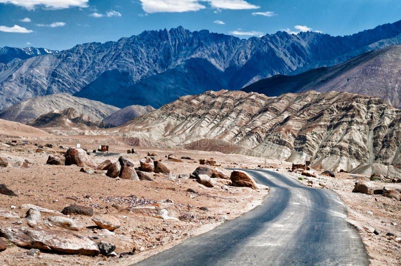 Ladakh highway royalty free stock images