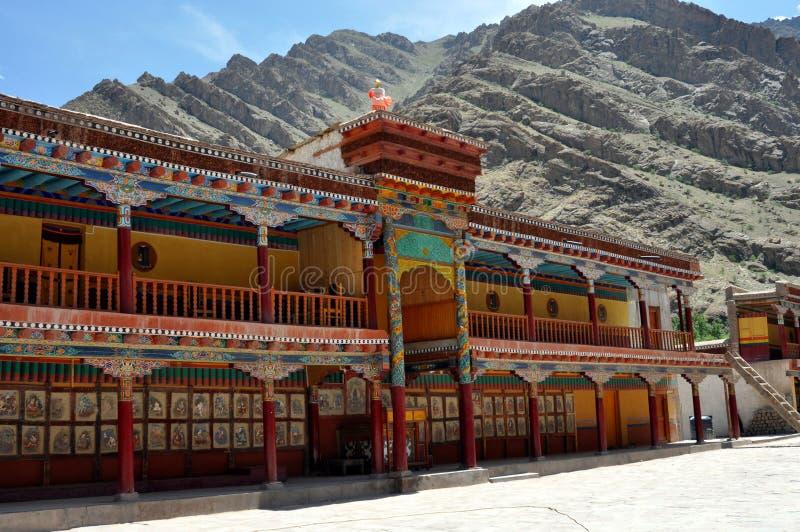 Ladakh (pouco Tibet) - monastério de Hemis fotografia de stock