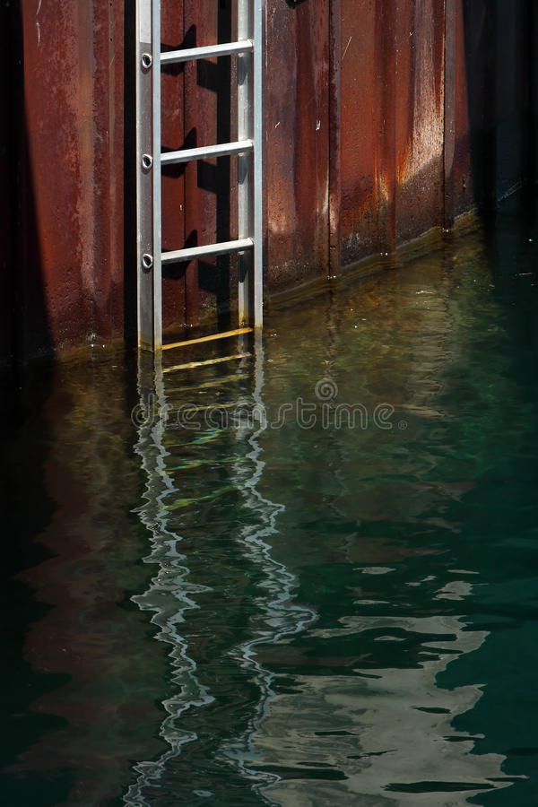Download Ladder stock photo. Image of harbor, blue, stairs, wave - 10607758