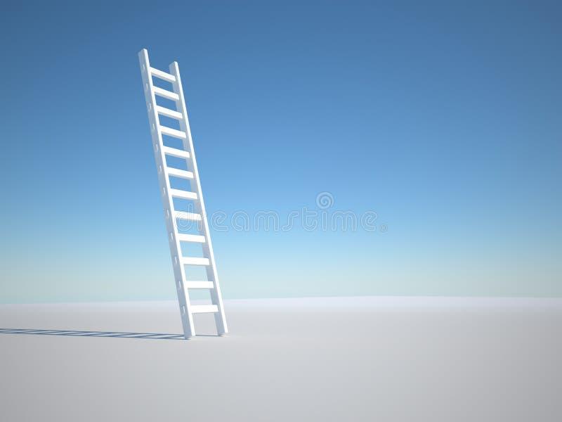 Ladder stock illustration